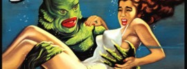 Creature from the Black Lagoon.  Do movie posters get better than this?  I think not!